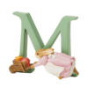 Peter Rabbit Alphabet Letters: M - Cecily Parsley