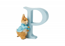 Peter Rabbit Alphabet Letters: P - Running Peter Rabbit