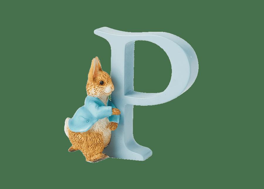 Peter Rabbit Alphabet Letters: P - Running Peter Rabbit