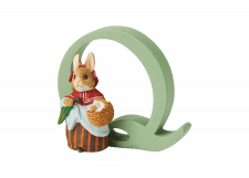 Peter Rabbit Alphabet Letters: Q - Mrs. Rabbit
