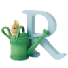 Peter Rabbit Alphabet Letters: R - Peter Rabbit in Watering Can