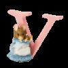 Peter Rabbit Alphabet Letters: V - Hunca Munca and Baby