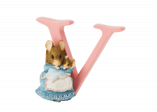 Peter Rabbit Alphabet Letters: V - Hunca Munca and Baby