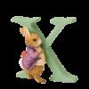 Peter Rabbit Alphabet Letters: X - Old Mr. Benjamin Bunny