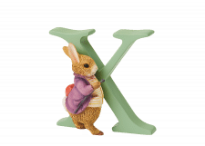 Peter Rabbit Alphabet Letters: X - Old Mr. Benjamin Bunny