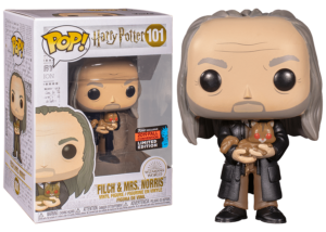 Funko Pop! Harry Potter: Filch and Mrs Norris #101 (Fall Convention)
