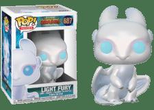 Funko Pop! How to Train your Dragon: Light Fury #687