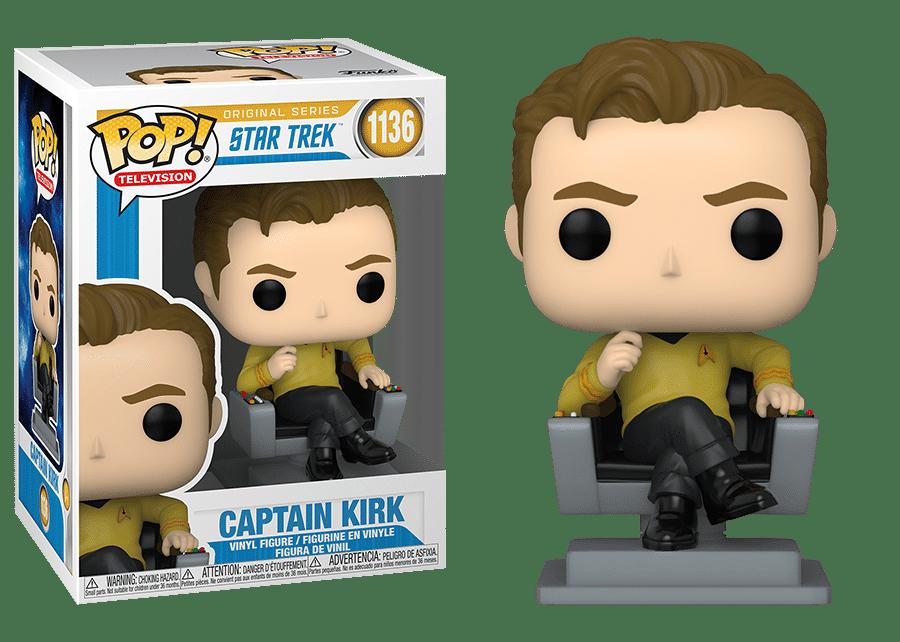 Funko Pop! Star Trek: Captain Kirk #1136