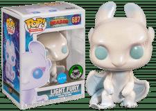 Funko Pop! How to Train your Dragon: Light Fury #687 (DGLT)