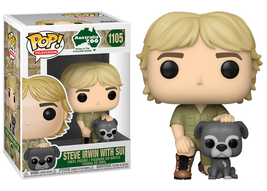 Funko Pop! Steve Irwin with Sui #1105