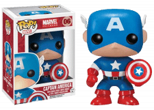 Funko Pop! Marvel: Captain America #06