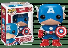 Funko Pop! Marvel: Captain America #06