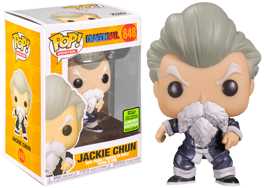 Funko Pop! Dragon Ball: Jackie Chun #848 (Spring Convention)