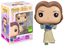 Funko Pop! Beauty and the Beast: Belle with Book #1010 (Spring Convention)