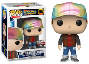 Funko Pop! Back to the Future: Marty McFly Future Outfit #962 (Metallic)