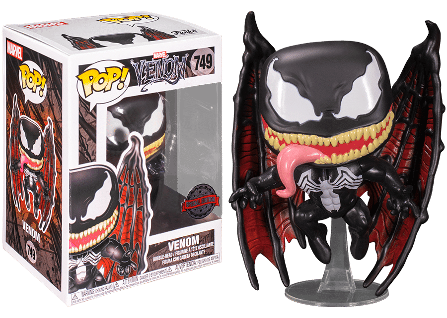 Funko Pop! Venom: Venom with Wings #749