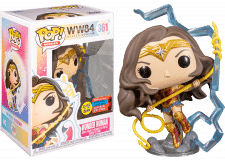 Funko Pop! Wonder Woman 84: with Lightning GitD #361 (Fall Convention)