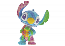 Disney Britto: Stitch with Frog Mini Figurine
