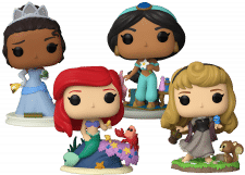 Funko Pop! Ultimate Princess: Set (4)