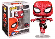 Funko Pop! Marvel: First Appearance Spider-Man #593 (Metallic)