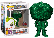 Funko Pop! Batman Arkham Asylum: The Joker (metallic) #53