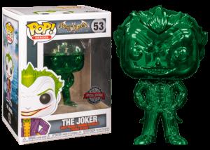 Funko Pop! Batman Arkham Asylum: The Joker (metallic) #53