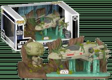 Funko Pop! Star Wars: Yoda Lifting X-Wing #382 (Galactic Convention)