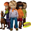 Living Dead Dolls: Scooby-Doo & Mystery Inc Set