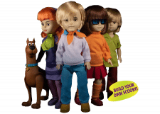 Living Dead Dolls: Scooby-Doo & Mystery Inc Set
