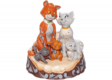"Disney Traditions: Aristocats ""Carved By Heart"" (white tail)"