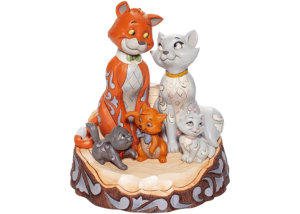"""Disney Traditions: Aristocats """"Carved By Heart"""" (white tail)"""