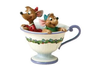 """Disney Traditions: Cinderella Jaq and Gus """"Tea For Two"""""""