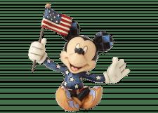 Disney Traditions: Mickey Patriotic Mini Figurine
