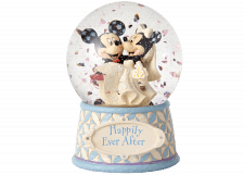 "Disney Traditions: Mickey and Minnie Waterball ""Happily Ever After"""