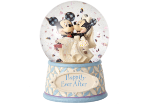 """Disney Traditions: Mickey and Minnie Waterball """"Happily Ever After"""""""