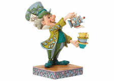 Disney Traditions Alice in Wonderland A Spot of Tea - Mad Hatter Figurine