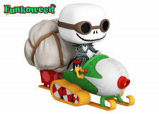 Funko Pop! NBC: Jack with Goggles and Snowmobile