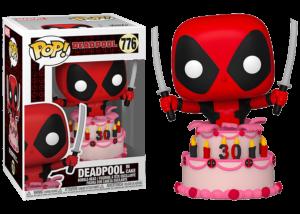 Funko Pop! Deadpool 30th Anniversary: Deadpool in Cake #776