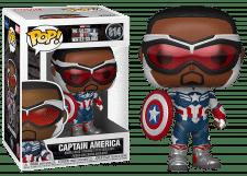 Funko Pop! Falcon and the Winter Soldier: Captain America #814