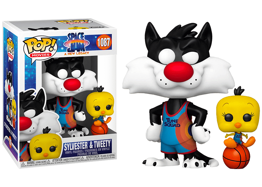 Funko Pop! Space-Jam 2: Sylvester and Tweety #1087