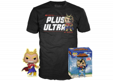 Funko Pop! and Tee My Hero Academia: Silver Age All Might #608