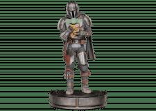 Iron Studios: Mandalorian and Grogu