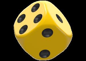 Oakie Doakie Dice: Solid - Yellow