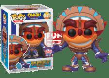 Funko Pop! Crash Bandicoot in Mask Armor #841 (Summer Convention)
