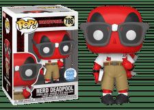 Funko Pop! Marvel: Nerd Deadpool #786 (Funko Shop)