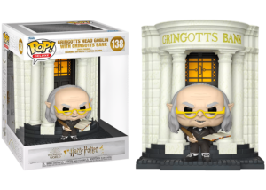 Funko Pop! Harry Potter: Gringotts Head Goblin with Bank #138