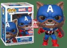 Funko Pop! Marvel: Capwolf #882 (Summer Convention)