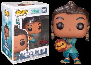 Funko Pop! Raya and the Last Dragon: Raya with Tuk Tuk #1005
