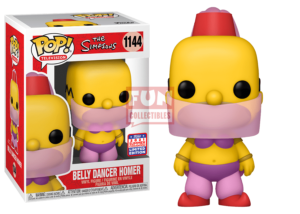 Funko Pop! The Simpsons: Belly Dancer Homer #1144 (Summer Convention)
