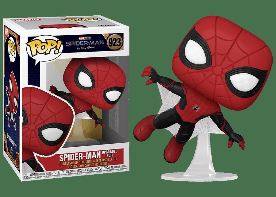 Funko Pop! Spider-Man No Way Home: Spider-Man (Upgraded Suit)